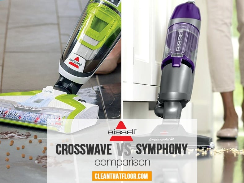 Bissell Crosswave Vs Symphony Vacuum Comparison Guide