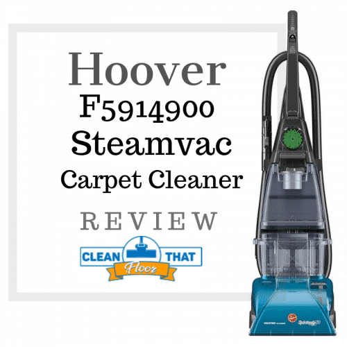 Hoover F5914900 Steamvac Carpet Cleaner Review